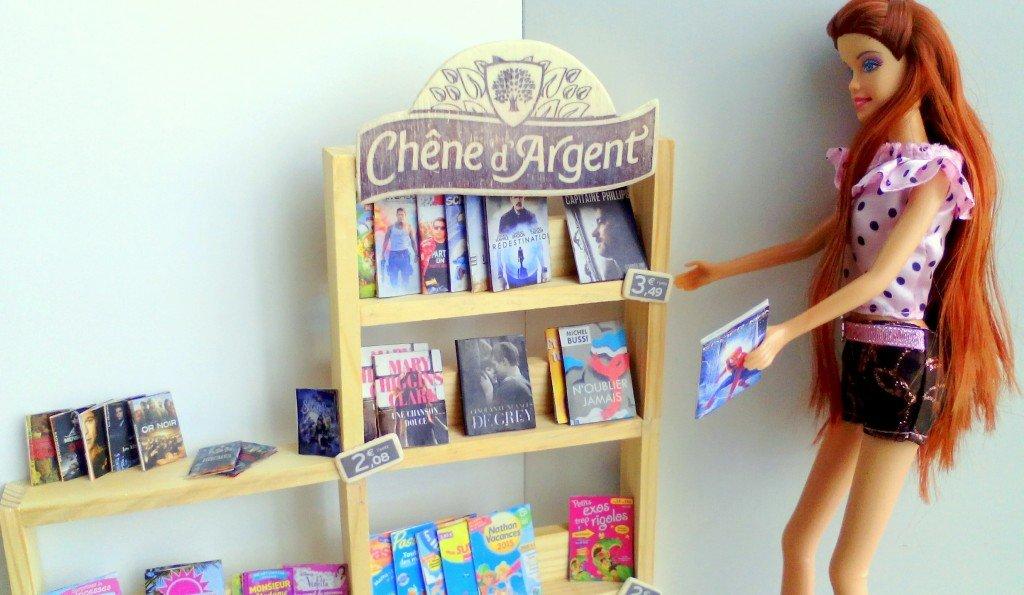 librairie barbie fait main et accessoires